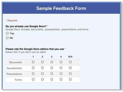 Webeetools google forms online survey pronofoot35fo Choice Image